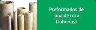 Productos preformados lana de roca